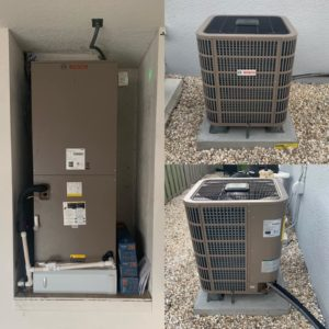 a replacement air conditioner
